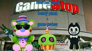 New fnaf plush+bendy plush+games review