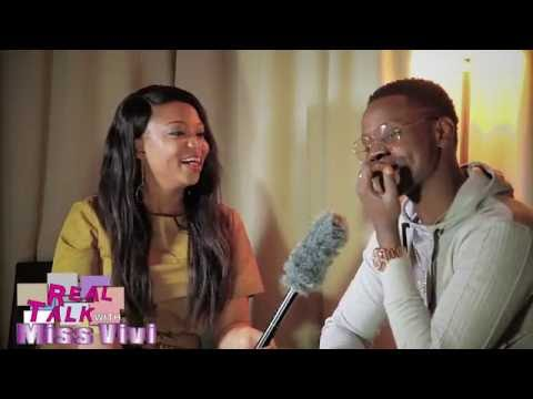 kiss Daniel on realtalk with Miss-Vivi