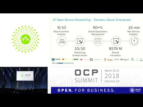 OCPUS18 – Keynote – Open Source Software on Open Hardware - Linux Foundation & OCP