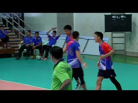 HL วอลเลย์บอลกรมพลศึกษา 16 ปี ทีมชาย รอบสอง | นวมินทราชูทิศ มัชฌิม - หอวัง นนทบุรี