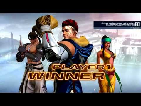 The King Of Fighters XIV (PlayStation 4) Story As South America Team