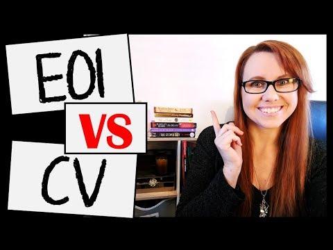 EOI Vs CV   Tips On Application Writing