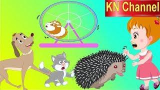Hoạt hình KN Channel BÉ NA THI BẮT CHUỘT VỚI MÈO & CHÓ tập 2 | Hoạt hình Việt Nam | GIÁO DỤC MẦM NON