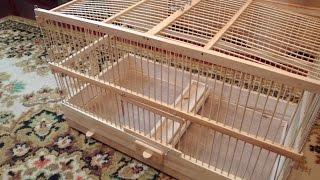 как сделать деревянную клетку для птиц