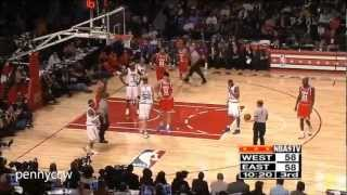Allen Iverson 35pts COMPLETE highlight in 2003 NBA All Star Game *Rare HD quality