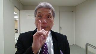 1月17日夕方都庁舎でマック赤坂「スマイル党」総裁に直撃インタビュ...