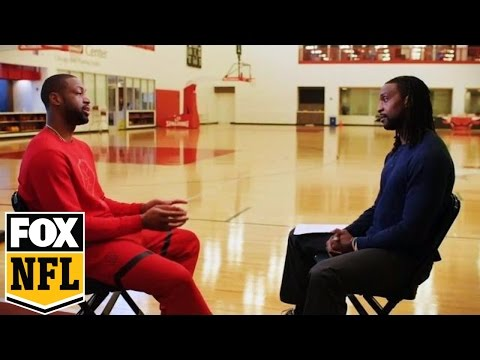 Dwyane Wade and Charles Tillman confront gun violence in Chicago | FOX NFL KICKOFF