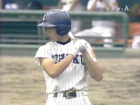 2001年宮城大会決勝 仙台育英vs東北 1/14 - YouTube