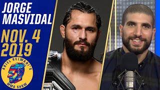 Jorge Masvidal talks Nate Diaz fight, boxing Canelo Alvarez | Ariel Helwani's MMA Show