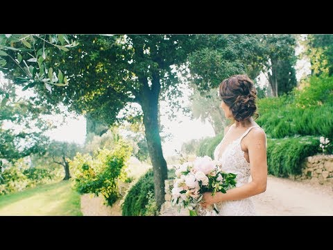 WEDDING FILM AT VILLA LE FONTANELLE IN FLORENCE, TUSCANY   WEDDING VIDEOGRAPHER IN ITALY  REENA & MA