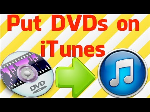 How To Put DVDs On ITunes (PC & Mac)