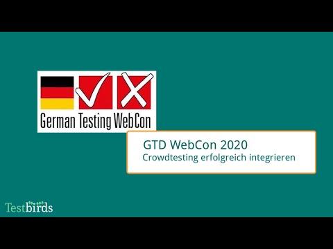 German Testing WebCon