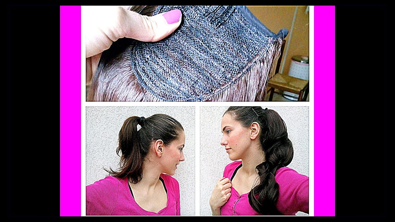 Synthetic Ponytail Hair Extensions From Ebay 4 Review Youtube