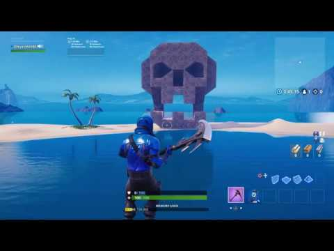 Fortnite How To Build A Skull (UPDATED) Easier Instructions!!!!!