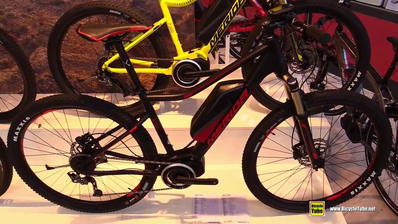 e052b041c89 2017 Merida eBig Tour 300 EQ Electric Mountain Bike - Walkaround - 2016  Eurobike