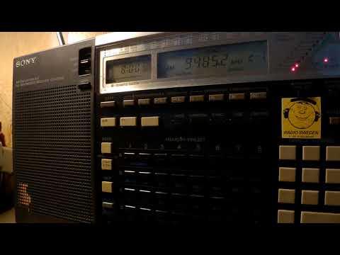 17 09 2017 MV Baltic Radio relay European Music Radio in English to CeEu 0800 on 9485 Goehren in CUS