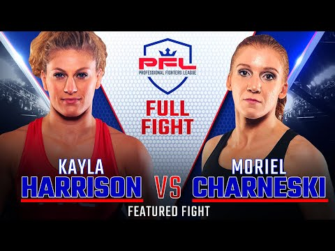 Kayla Harrison vs. Moriel Charneski from the PFL Championship