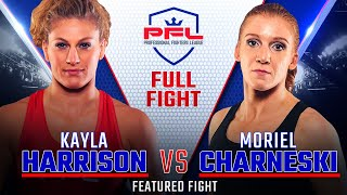 Kayla Harrison vs. Moriel Charneski from the PFL Championship