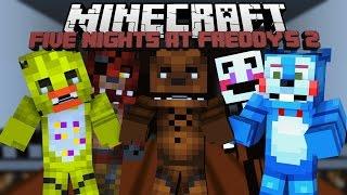 Minecraft Five Nights at Freddy s 3 Ужасная ночь в Майнкрафт