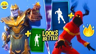 FORTNITE DANCES THAT LOOK BETTER WITH THESE SKINS..! (LOOKS & SOUND BETTER)