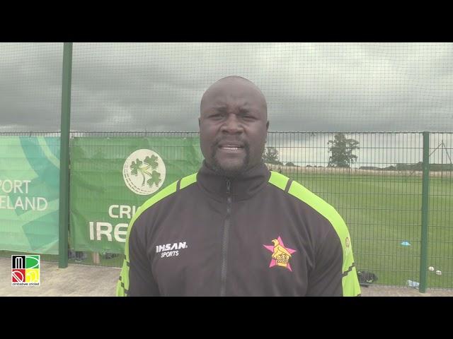 Walter Karimanzira on Zimbabwe Team Fitness