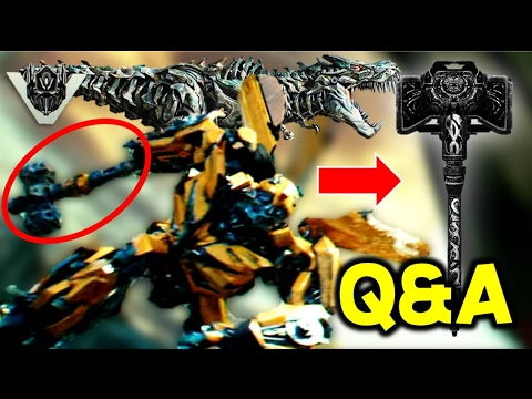 Transformers The Last Knight Superbowl TV Spot Q&A (Forge Of Solus Prime? Grimlock Dies?)