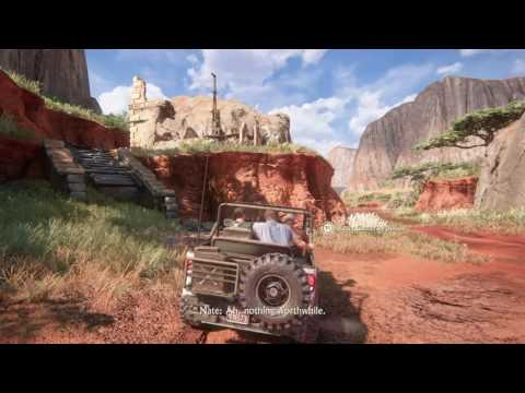 Uncharted 4: A Thief's End - Madagascar, banter & Treasure Hunting