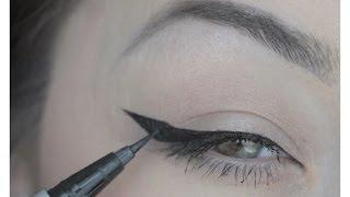 видео Макияж со стрелками: как нарисовать стрелки на глазах в зависимости от их формы