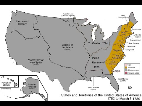 United States Expansion 1762 - Present Day