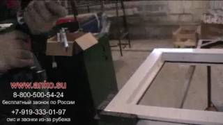24  Фурнитура   Установка петли   Обучение производству пластиковых окон