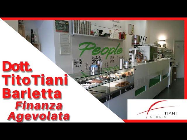 COMMERCIALISTA BARLETTA TITO TIANI - FINANZA AGEVOLATA STUDIO TIANI - CAFFETTERIA PEOPLE