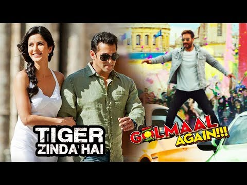 Tiger Zinda Hai FINAL Song To Be Shot In Greece, Golmaal Again CAR Stunt Gets Positive Response