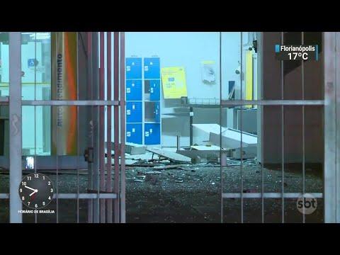 Polícia do Rio investiga quadrilha especializada em assaltar bancos   SBT Brasil (20/06/18)