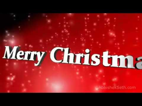 Christmas Greetings 2016   With Music   Wish Merry Christmas to your friends and family #Xmas