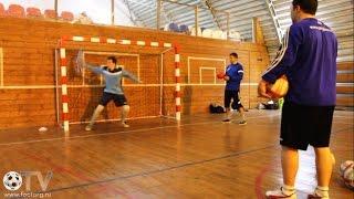 Тренировки для мини-футбольных вратарей (15.07.2015)