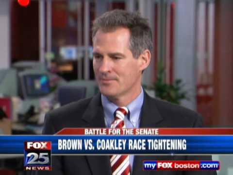 Republican Scott Brown surges ahead of Democrat Martha Coakley