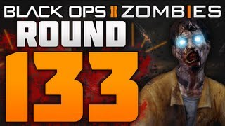 Black Ops 2 Zombies Round 133 World Record TranZit Gameplay (BO2 Zombies Tips / Strategy)