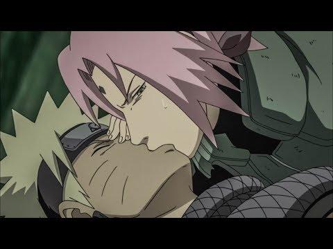 Sakura Kisses Naruto - Black Zetsu Steals Kurama HD