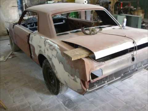 1966 ford mustang gt restauration restoration part 3 youtube. Black Bedroom Furniture Sets. Home Design Ideas