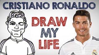 DRAW MY LIFE with Cristiano Ronaldo!