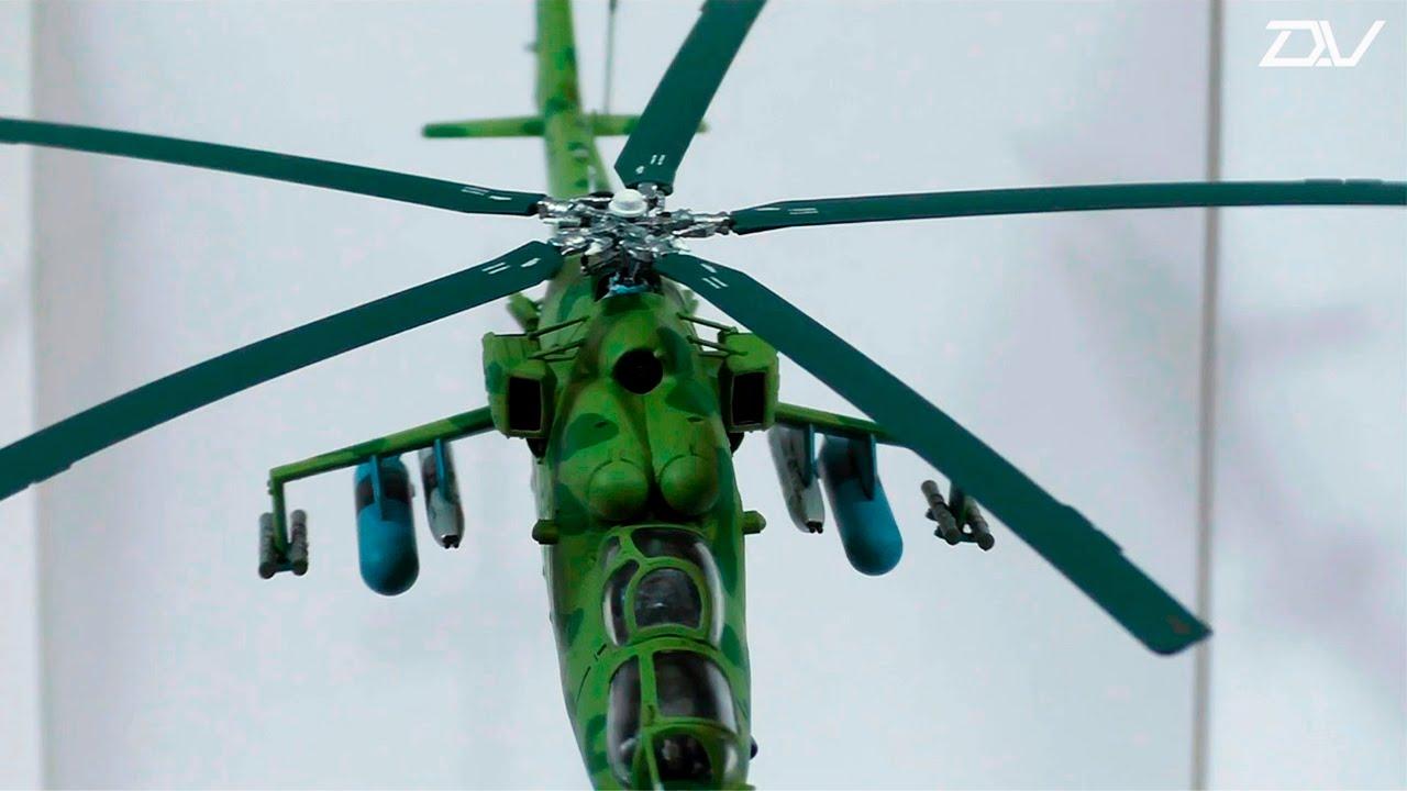 схема сборки вертолета ми-24в звезда