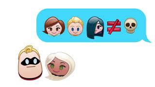 İnanılmaz Aile 1 | Disney Emojileri Anlatımıyla