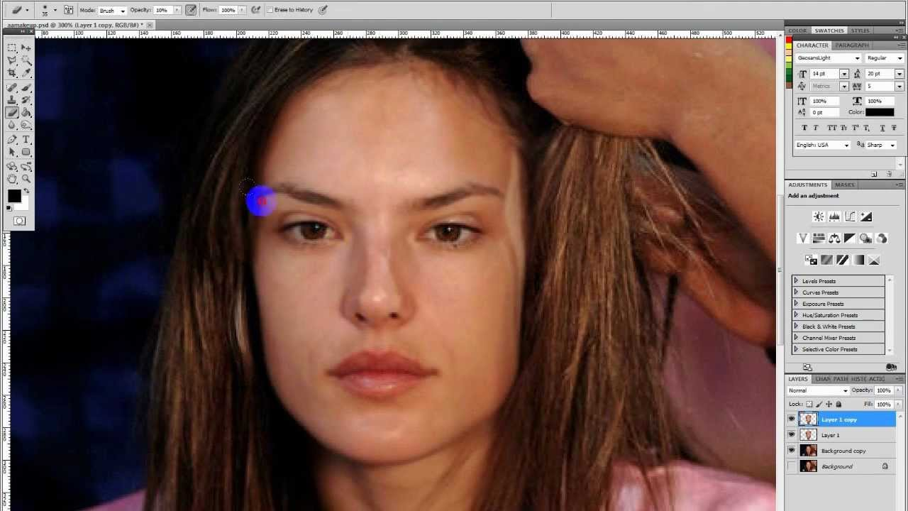 Alessandra Ambrosio No Make Up Speed Edit Youtube