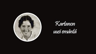 Kartanon uusi emäntä - Kari Bergholm - Historia - Backbyn Kartano Espoossa