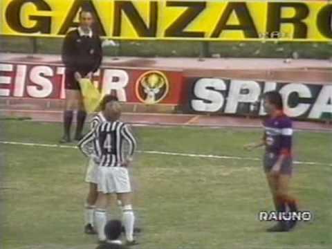 Fiorentina-Juventus 3-3 - Campionato 1983/'84 - Telecronaca secondo tempo