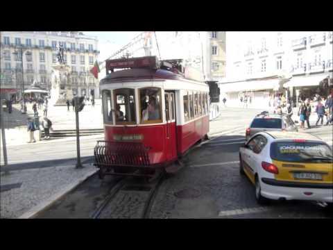 Lisbon tram 28 - Lissabon Straßenbahn - Carris Lisboa  - Villamos