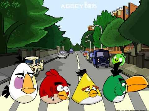 ABBEY BIRDS (Angry Birds Beatles Parody)