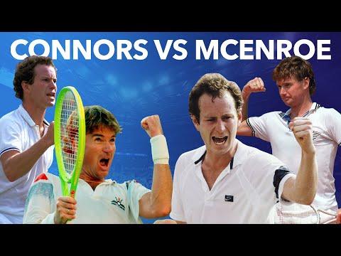 Best Of Jimmy Connors Vs John McEnroe At The US Open
