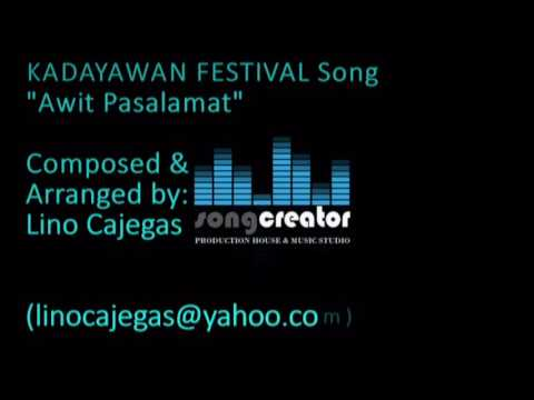 KADAYAWAN FESTIVAL JINGLE