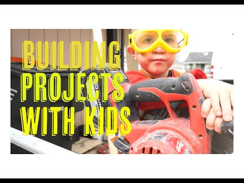 woodworking-projects-for-kids-||-what-is-the-3-year-old-building?-||-episode-2-||-diy-for-kids